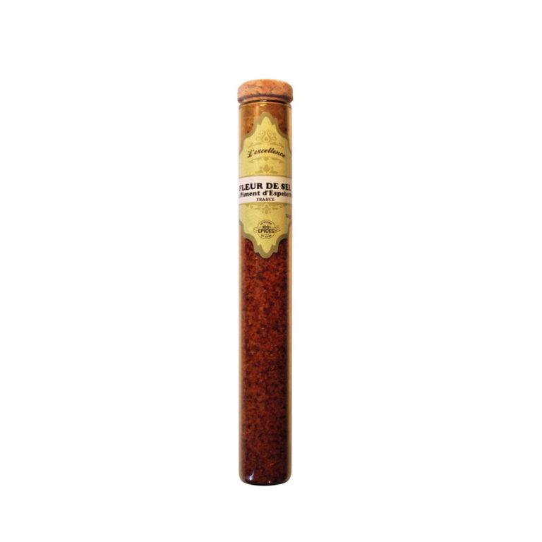 Fleur de sel au piment d'Espelette - TJ06